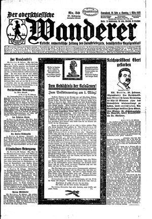 ˜Derœ Oberschlesische Wanderer on Feb 28, 1925