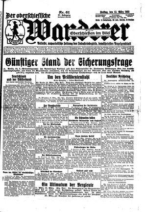 ˜Derœ Oberschlesische Wanderer vom 13.03.1925