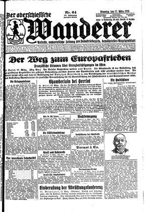 ˜Derœ Oberschlesische Wanderer on Mar 17, 1925