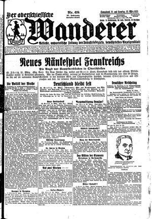 ˜Derœ Oberschlesische Wanderer on Mar 21, 1925
