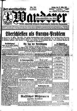 ˜Derœ Oberschlesische Wanderer on Mar 27, 1925
