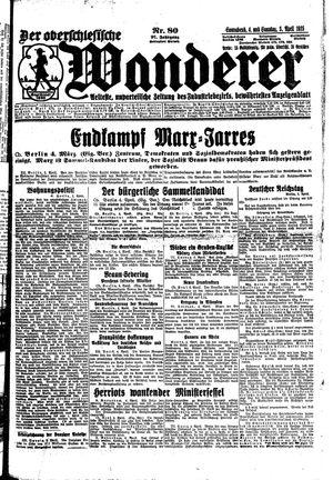 ˜Derœ Oberschlesische Wanderer on Apr 4, 1925