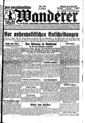 ˜Derœ Oberschlesische Wanderer on Apr 8, 1925