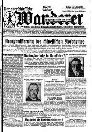 ˜Derœ Oberschlesische Wanderer vom 08.04.1927