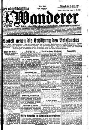 ˜Derœ Oberschlesische Wanderer on Apr 27, 1927