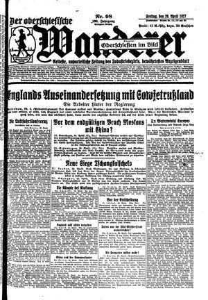 ˜Derœ Oberschlesische Wanderer vom 29.04.1927