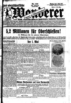 ˜Derœ Oberschlesische Wanderer on May 2, 1927