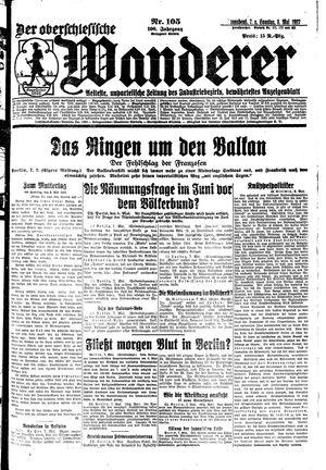˜Derœ Oberschlesische Wanderer vom 07.05.1927