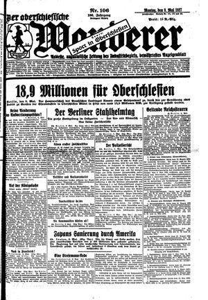 ˜Derœ Oberschlesische Wanderer vom 09.05.1927