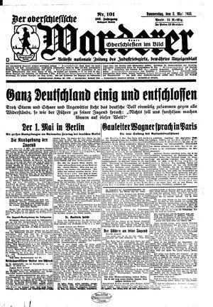 ˜Derœ Oberschlesische Wanderer vom 02.05.1935