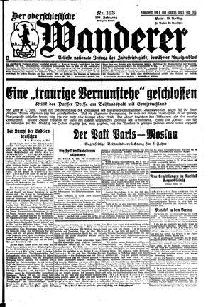 ˜Derœ Oberschlesische Wanderer on May 4, 1935