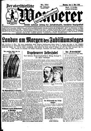 ˜Derœ Oberschlesische Wanderer vom 06.05.1935