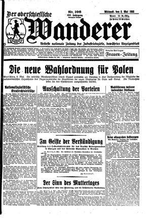 ˜Derœ Oberschlesische Wanderer vom 08.05.1935