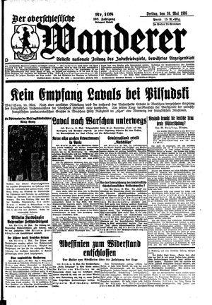 ˜Derœ Oberschlesische Wanderer vom 10.05.1935