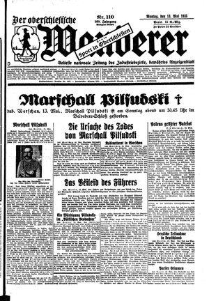 ˜Derœ Oberschlesische Wanderer vom 13.05.1935