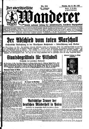 ˜Derœ Oberschlesische Wanderer vom 14.05.1935