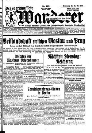 ˜Derœ Oberschlesische Wanderer vom 16.05.1935