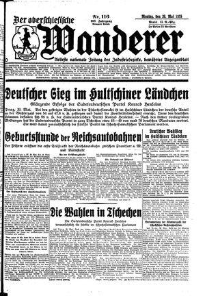 ˜Derœ Oberschlesische Wanderer vom 20.05.1935