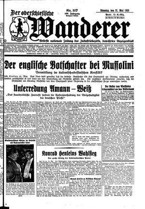 ˜Derœ Oberschlesische Wanderer vom 21.05.1935