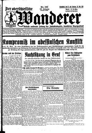 ˜Derœ Oberschlesische Wanderer on May 25, 1935