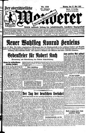 ˜Derœ Oberschlesische Wanderer vom 27.05.1935