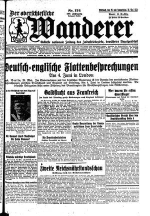 ˜Derœ Oberschlesische Wanderer vom 29.05.1935