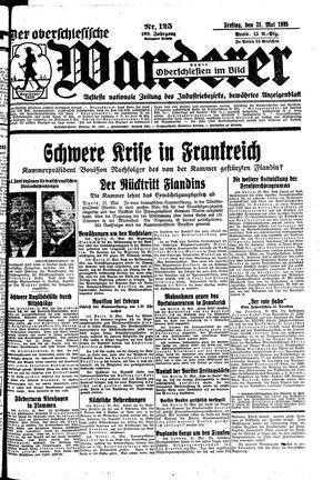 ˜Derœ Oberschlesische Wanderer vom 31.05.1935