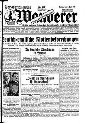 ˜Derœ Oberschlesische Wanderer vom 03.06.1935