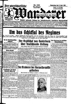 ˜Derœ Oberschlesische Wanderer vom 06.06.1935