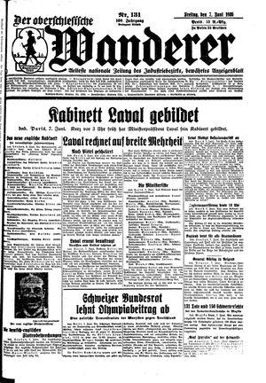 ˜Derœ Oberschlesische Wanderer vom 07.06.1935