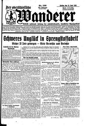 ˜Derœ Oberschlesische Wanderer vom 14.06.1935