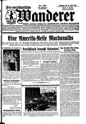 ˜Derœ Oberschlesische Wanderer vom 18.06.1935