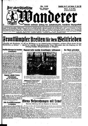 ˜Derœ Oberschlesische Wanderer vom 22.06.1935
