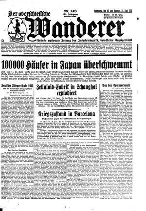 ˜Derœ Oberschlesische Wanderer vom 29.06.1935