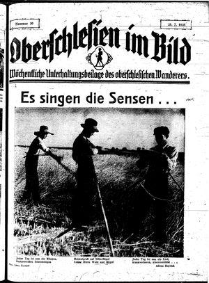 Oberschlesien im Bild vom 25.07.1935