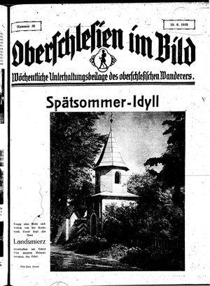 Oberschlesien im Bild vom 19.09.1935