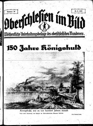 Oberschlesien im Bild vom 26.09.1935