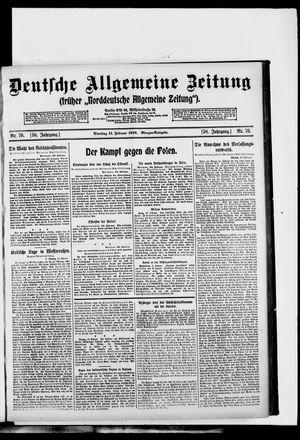 Deutsche allgemeine Zeitung vom 11.02.1919