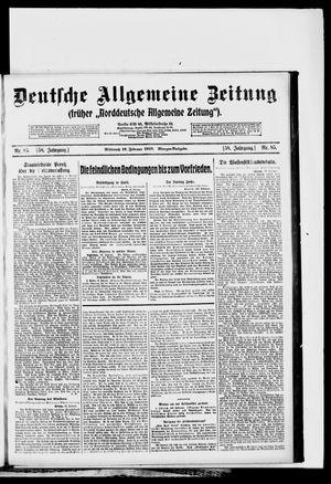 Deutsche allgemeine Zeitung vom 19.02.1919