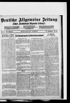 Deutsche allgemeine Zeitung vom 26.02.1919