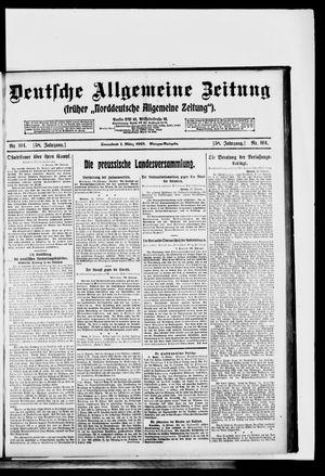 Deutsche allgemeine Zeitung vom 01.03.1919