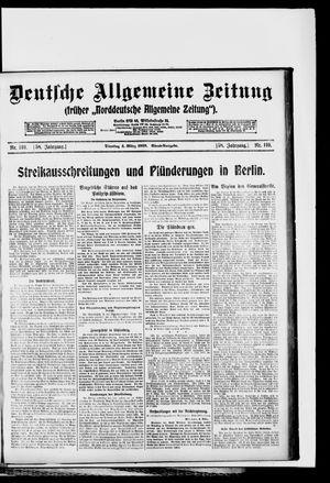 Deutsche allgemeine Zeitung vom 04.03.1919