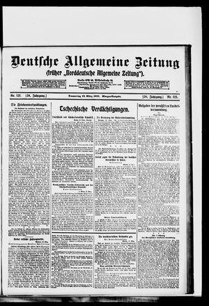 Deutsche allgemeine Zeitung vom 13.03.1919