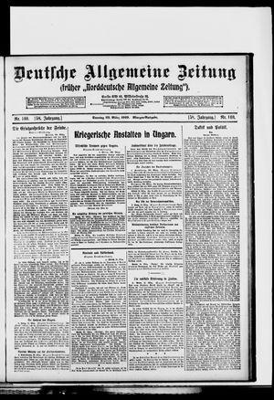 Deutsche allgemeine Zeitung vom 23.03.1919