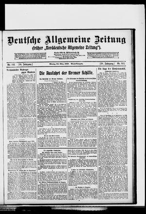 Deutsche allgemeine Zeitung vom 24.03.1919