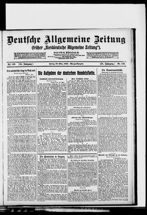 Deutsche allgemeine Zeitung vom 28.03.1919