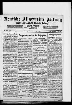 Deutsche allgemeine Zeitung vom 01.04.1919
