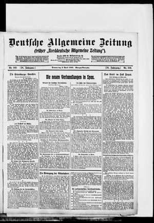 Deutsche allgemeine Zeitung vom 03.04.1919