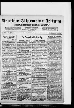 Deutsche allgemeine Zeitung on Apr 4, 1919