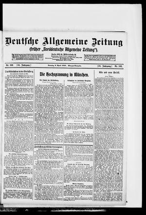 Deutsche allgemeine Zeitung vom 06.04.1919